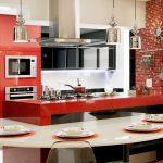 Cores vibrantes na cozinha
