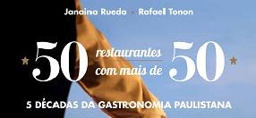 """Livro: """"50 Restaurantes com Mais de 50"""""""
