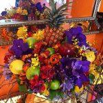 Flores em arranjos sofisticados